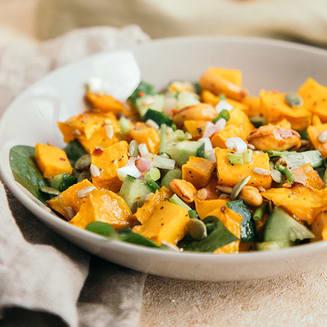 Boosted Pumpkin Salad