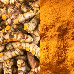 Turmeric root & powder