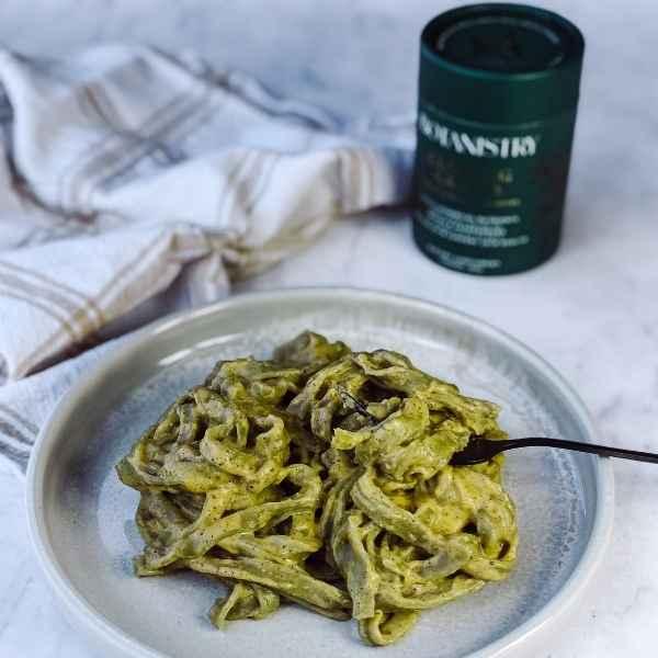 Green Fettuccine